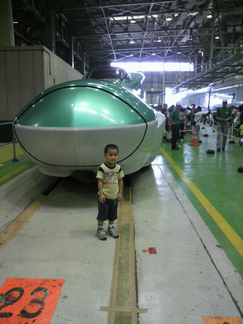 新幹線車両基地祭り